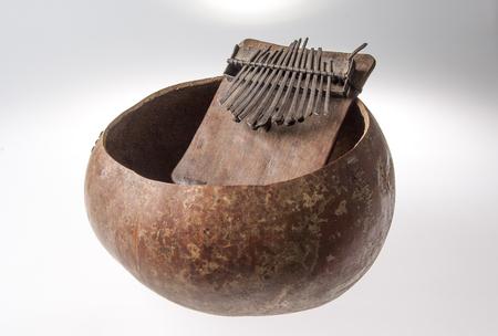 Handmade African music instrument