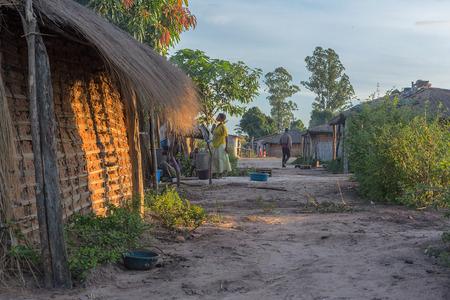 DUNDOANGOLA - 23 APRIL 2015 - African rural community, Angola. Dundo