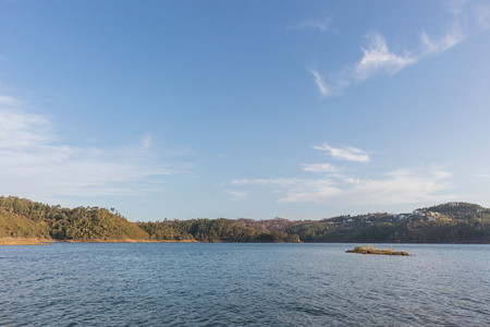 Lake from the serra de tomar.