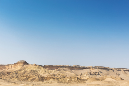 Canyons in the Namibe Desert. Angola. Africa.