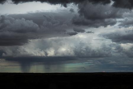 Namibian desert storm, extremely dramatic sky.
