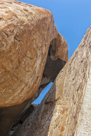 Millennial giant stones in the Iona natural park. Angola. Cunene.