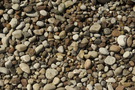 Abstract background of speckled stones