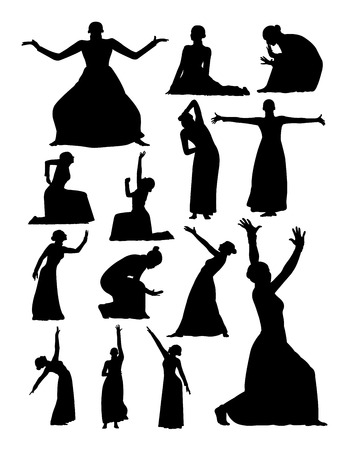 Theater and opera silhouette. Good use for symbol, logo, web icon, mascot, sign, or any design you want.