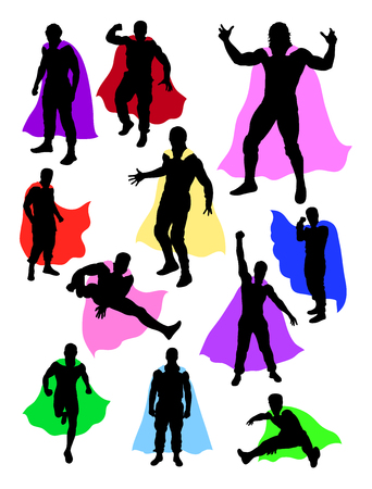 Superhero design. Good use for symbol, logo, web icon, mascot, sign, or any design you want.