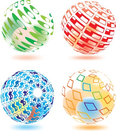 Vector illustration of abstract sphere Vector