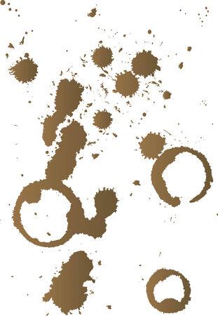 Vector illustration for coffee splash