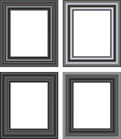 beautiful pictures: Vector illustration for Photo frame isolated on a white background