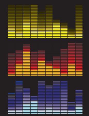 Vector illustration of digital equalizer Stock Vector - 5408329