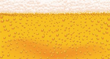 condensación: Antecedentes de las burbujas de la cerveza en un formato vectorial Vectores