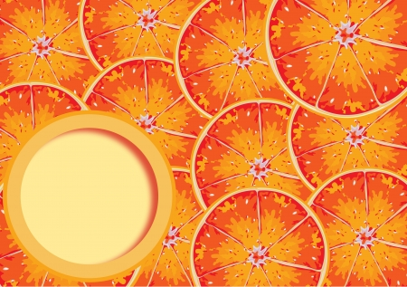 vitamin c: Background of a lot red orange with space for your text in  format
