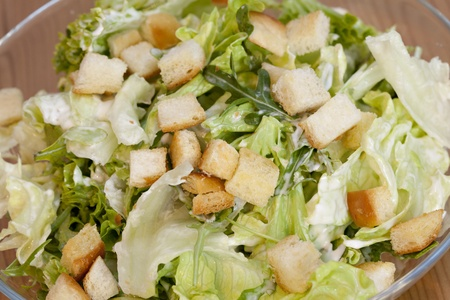 Caesar Salad, healthy with chicken and parmesan Stock Photo - 12647194