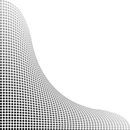 punti di sfondo, nero Vettoriali