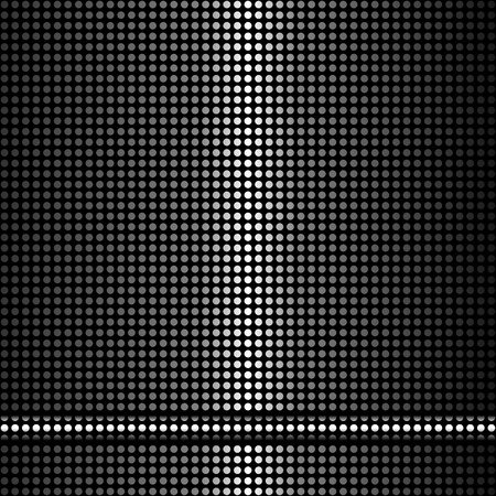 black texture background Stock Vector - 12948740