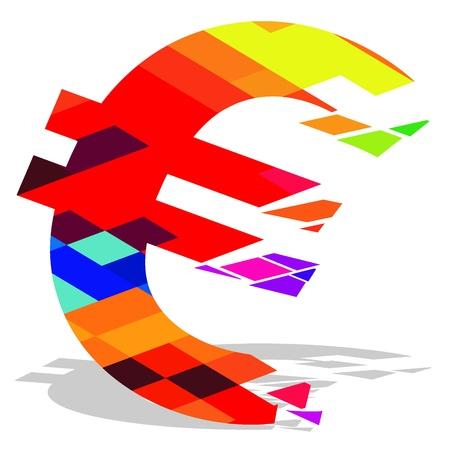 EURO ripartizione Vettoriali