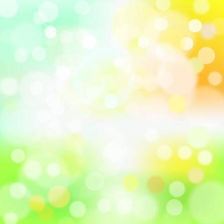 Light, sun, sky, grass, abstract background