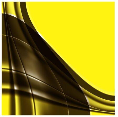 giallo-marrone di sfondo Vettoriali