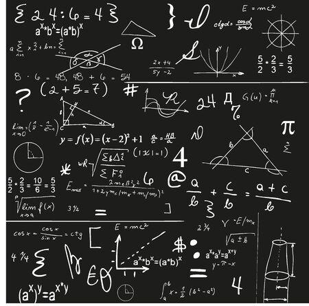 Pannello di Matematica Vettoriali