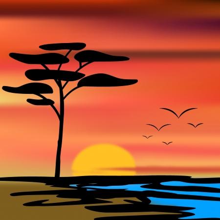 Urlaub_Sonnenuntergang_color