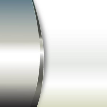 Metal background with glossy stripes