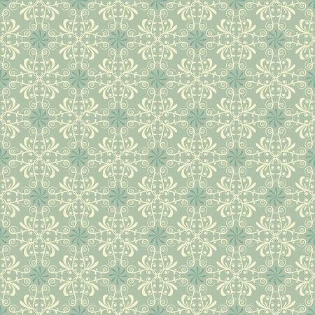 Pattern, wallpaper in subtle green