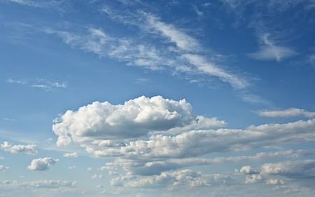 Cielo, nuvole, vacanza, volare