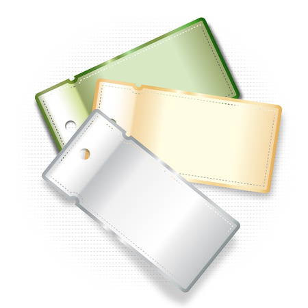 Three labels for special offers Illustration