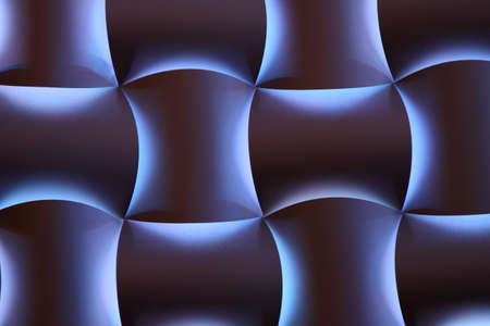 grid pattern: Neon lighted texture background  Stock Photo