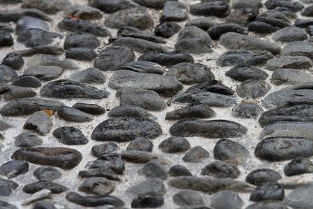 Stone walkway texture background