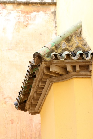 Terracotta roof in Malaga, Spain