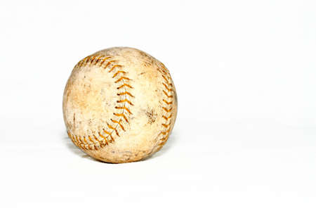 Softball with white background