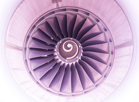 turbofan: Thailand BKK - June 2015 :  Airbus, Aircraft engine inlet duct