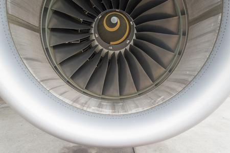 turbofan: Aeronaves conducto de entrada del motor Editorial