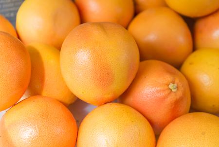 mandarine: Ripe mandarin citrus isolated tangerine mandarine orange Stock Photo