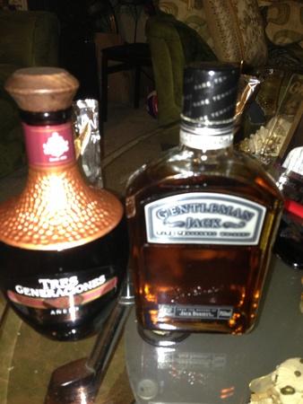 Tequila whiskey 版權商用圖片