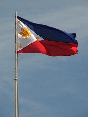 philippine: Philippine Flag Stock Photo