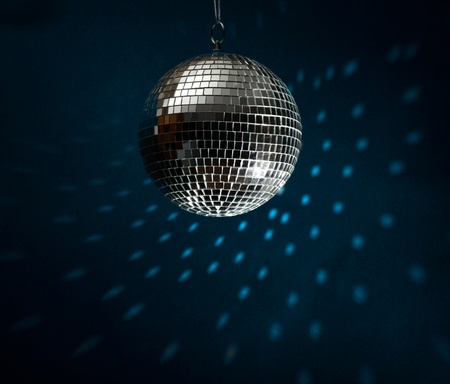 mirror ball: Disco Ball Stock Photo