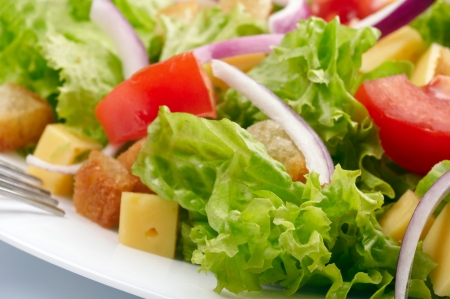 lowfat: Salad background Stock Photo