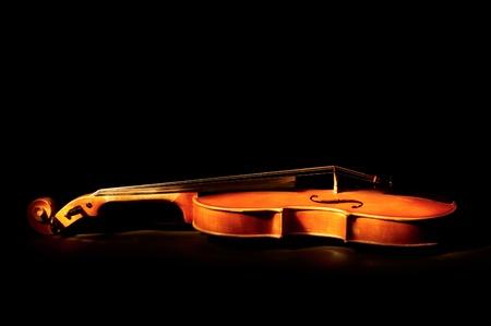 a symphony: Vintage violin Stock Photo
