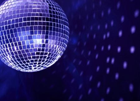 fiestas electronicas: Bola de discoteca Foto de archivo