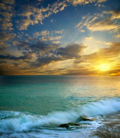 Sea sunset Stock Photo - 14886325