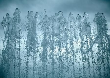 water source: Fontain water splashing