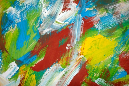 multilayer: Painted abstract background