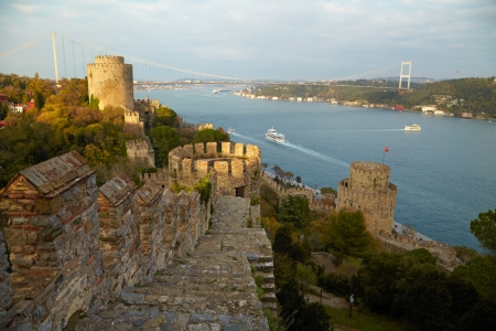 hisari: Fortress Rumelihisar. Istanbul, Turkey