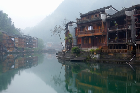 huang: Old Chinese traditional town