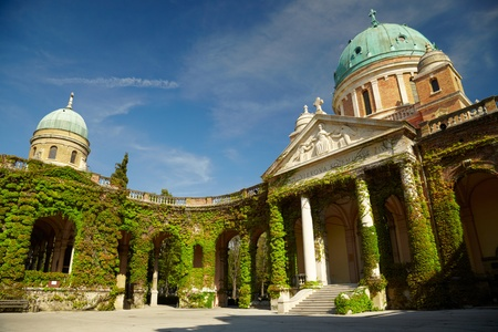 Mirogoj cemetery. Zagreb, Croatia photo