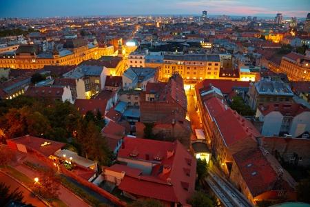 zagreb:  Zagreb cityscape, Croatia