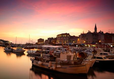 European town at adriatic sea Stock Photo - 17196507