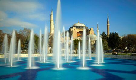 hagiasophia: Aya Sofia. Istanbul, Turkey Stock Photo