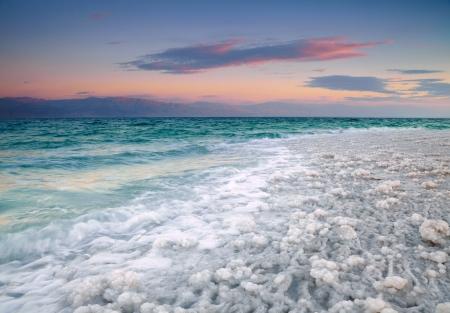 Dode Zee kust